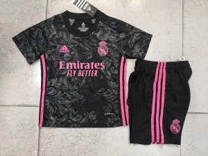 Conjunto Infantil (Camisa + Shorts) Real Madrid 2020-2021 (Third-Uniforme 3)