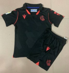 Conjunto Infantil (Camisa + Shorts) Real Sociedad 2020-2021 (Away-Uniforme 2)