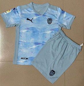 Conjunto Infantil (Camisa + Shorts) Valencia 2020-2021 (Third-Uniforme 3)