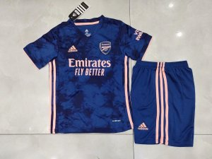 Conjunto Infantil (Camisa + Shorts) Arsenal 2020-2021 (Third-Uniforme 3)