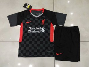 Conjunto Infantil (Camisa + Shorts) Liverpool 2020-2021 (Third-Uniforme 3)