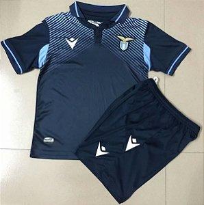 Conjunto Infantil (Camisa + Shorts) Lazio 2020-2021 (Third-Uniforme 3)