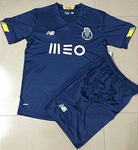Conjunto Infantil (Camisa + Shorts) Porto 2020-2021 (Away-Uniforme 2)
