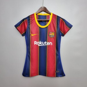 Camisa Barcelona 2020-21  (Home-Uniforme 1)  - Feminina