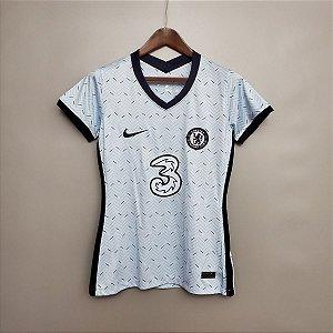 Camisa Chelsea 2020-21  (Away-Uniforme 2)  - Feminina