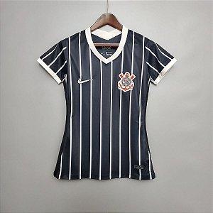Camisa Corinthians 2020-21  (Away-Uniforme 2)  - Feminina