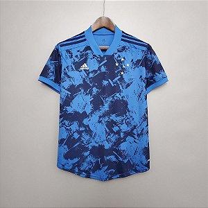 Camisa Cruzeiro 2020-21  (Third-Uniforme 3)  - Feminina