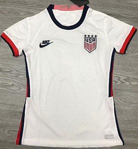 Camisa EUA 2020-21  (Home-Uniforme 1)  - Feminina