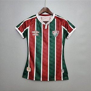 Camisa Fluminense 2020-21  (Home-Uniforme 1)  - Feminina