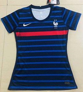 Camisa França 2020-21  (Home-Uniforme 1)  - Feminina