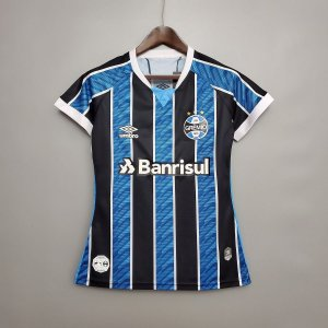 Camisa Grêmio 2020-21  (Home-Uniforme 1)  - Feminina