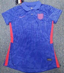 Camisa Inglaterra 2020-21  (Away-Uniforme 2)  - Feminina
