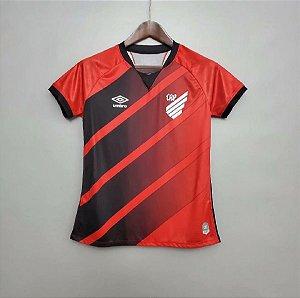 Camisa Atlético-PR 2020-21  (Home-Uniforme 1)  - Feminina
