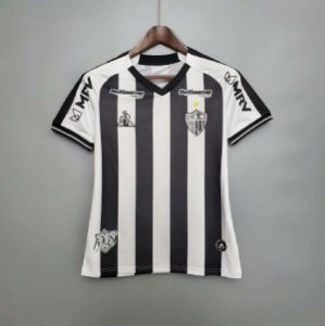 Camisa Atlético-MG 2020-21  (Home-Uniforme 1)  - Feminina
