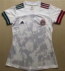 Camisa México 2020-21  (Away-Uniforme 2)  - Feminina
