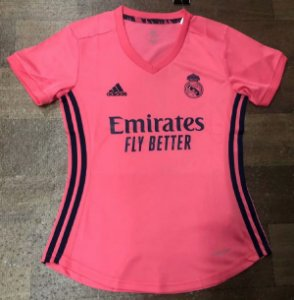 Camisa Real Madrid 2020-21  (Away-Uniforme 2)  - Feminina