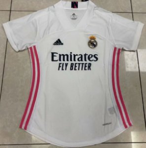 Camisa Real Madrid 2020-21  (Home-Uniforme 1)  - Feminina