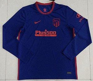 Camisa Atlético de Madrid 2020-21 (Away-Uniforme 2) - manga longa