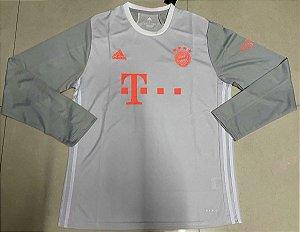 Camisa Bayern Munich 2020-21 (Away-Uniforme 2) - manga longa