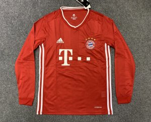 Camisa Bayern Munich 2020-21 (Home-Uniforme 1) - manga longa