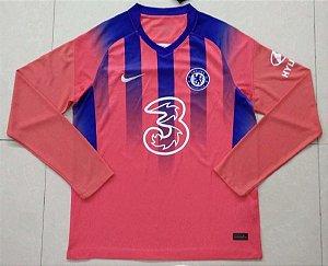 Camisa Chelsea 2020-21 (Third-Uniforme 3) - manga longa