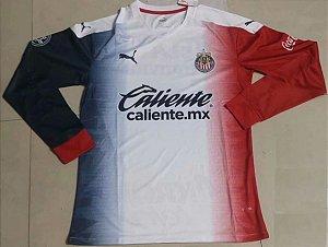 Camisa Chivas Guadalajara 2020-21 (Away-Uniforme 2) - manga longa