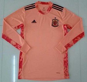Camisa Espanha 2020-21 (goleiro) - manga longa