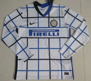 Camisa Internazionale 2020-21 (Away-Uniforme 2) - manga longa