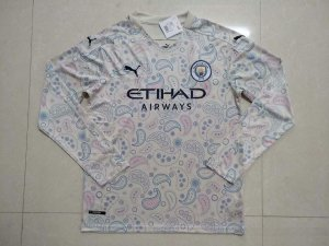 Camisa Manchester City 2020-21 (Third-Uniforme 3) - manga longa