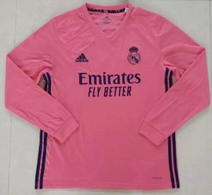 Camisa Real Madrid 2020-21 (Away-Uniforme 2) - manga longa
