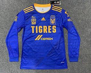 Camisa Tigres UANL 2020-21 (Away-Uniforme 2) - manga longa