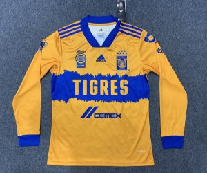 Camisa Tigres UANL 2020-21 (Home-Uniforme 1) - manga longa