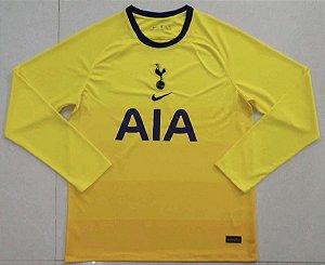 Camisa Tottenham Hotspur 2020-21 (Third-Uniforme 3) - manga longa
