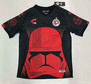Camisa Tijuana 2019-20 (Star Wars) - preta/vermelha