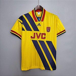 Camisa Arsenal 1993-1994 (Away-Uniforme 2)