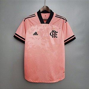Camisa Flamengo 2020 (Outubro Rosa) - sem patrocínios