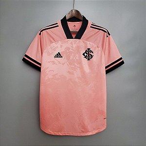 Camisa Inter-RS 2020 (Outubro Rosa) - sem patrocínios