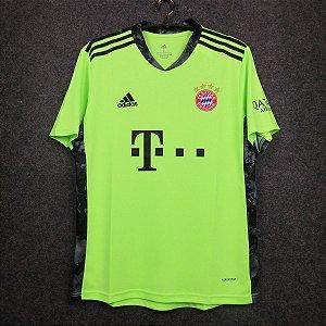 Camisa Bayern Munich 2020-21 (goleiro-verde)