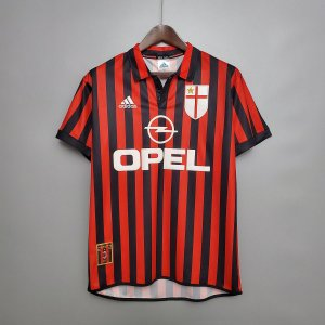 Camisa Milan 1999-2000 (Home-Uniforme 1)