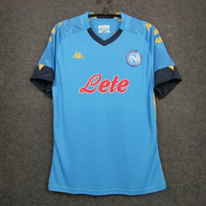 Camisa Napoli 2020-21 (Home-Uniforme 1) - Europa League