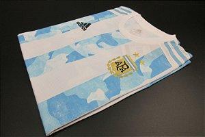 Camisa Argentina 2020-21 (Home-Uniforme 1) - Modelo Jogador