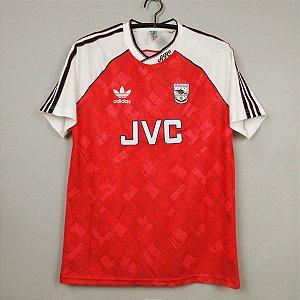 Camisa Arsenal 1990-1992 (Home-Uniforme 1)
