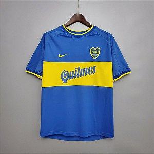 Camisa Boca Juniors 1999-2000 (Home-Uniforme 1)