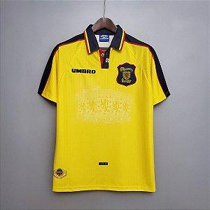 Camisa Escócia 1998 (Away-Uniforme 2)