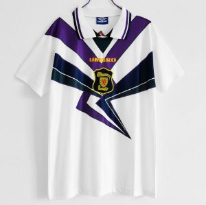 Camisa Escócia 1996 (Away-Uniforme 2)