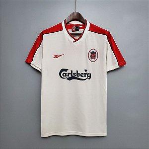 Camisa Liverpool 1998-1999 (Away-Uniforme 2)