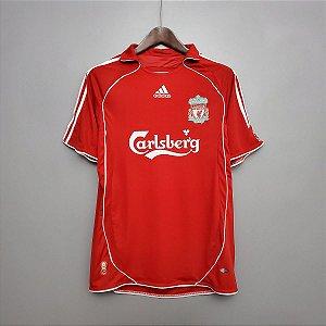 Camisa Liverpool 2006-2007 (Home-Uniforme 1)