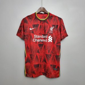 Camisa Liverpool 2020-21 (treino - vermelho)