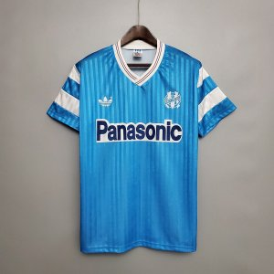 Camisa Olympique Marseille 1990 (Away-Uniforme 2)