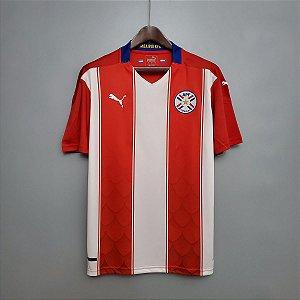 Camisa Paraguai 2020-21 (Home-Uniforme 1)